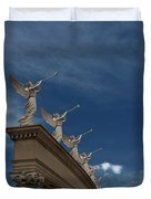 Come Blow Your Horn - Angels And Trumpets - Caesars Palace Las Vegas Duvet Cover