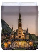 Come In Procession Duvet Cover