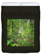 Come Into The Woods With Me Duvet Cover