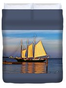 Come Sail Away Duvet Cover