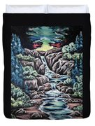 Come Walk With Me 2 Duvet Cover