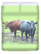 Come With Us And Get Some Milk  Duvet Cover