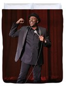 Comedian Arsenio Hall  Duvet Cover