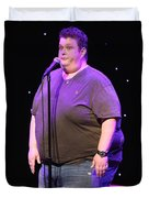 Comedian Ralphie May Duvet Cover