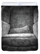 Comfy Chair By The Window Duvet Cover