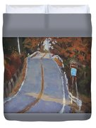 Coming Off Orr's Island - Art By Bill Tomsa Duvet Cover