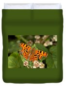 Comma Butterfly Duvet Cover
