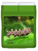 Comma Caterpillar Duvet Cover