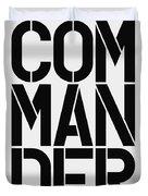Commander Duvet Cover