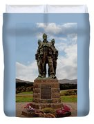 Commando Memorial 2 Duvet Cover