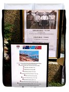 Commemorations Anzac Cove Duvet Cover