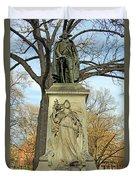 Commodore John Barry Monument Duvet Cover