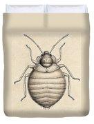Common Bedbug, Cimex Lectularius Duvet Cover