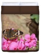 Common Buckeye Butterfly Duvet Cover
