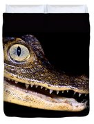Common Caiman Duvet Cover
