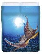 Common Cuttlefish Duvet Cover