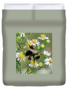 Common Eastern Bumblebee  Duvet Cover