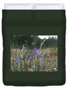 Common Harebell Duvet Cover