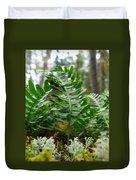 Common Polypody Duvet Cover