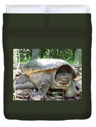 Common Snapping Turtle Duvet Cover