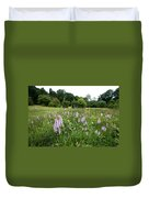 Common Spotted Orchids Duvet Cover