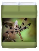 Common Whitetail Dragonfly Duvet Cover