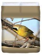 Common Yellowthroat #2 Duvet Cover