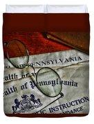 Commonwealth Of Pennsylvania Duvet Cover