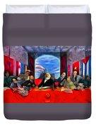 Communist Last Supper Duvet Cover