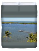 Community Harbor Duvet Cover