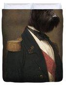 Sir Schnauzer The Magnificent Duvet Cover