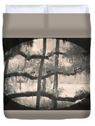 Competing Branches Duvet Cover