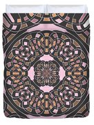 Complex Geometric Abstract Duvet Cover