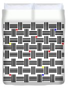 Composition 2 Duvet Cover