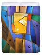 Composition # 5 Duvet Cover