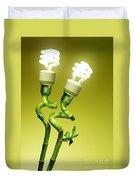 Conceptual Lamps Duvet Cover
