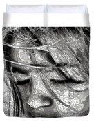 Conceptual Portrait Duvet Cover