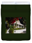 Conch House In Key West Duvet Cover