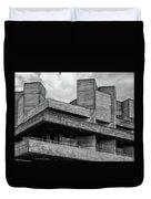 Concrete - National Theatre - London Duvet Cover