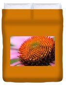 Cone Flower Closeup Duvet Cover