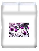 Cone Flower Delight Duvet Cover by Kevyn Bashore