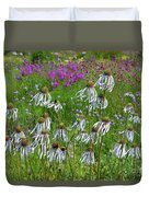Cone Flower Fairy Dance Duvet Cover