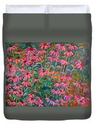 Coneflowers Duvet Cover