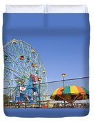 Coney Island Memories 6 Duvet Cover