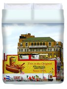 Coney Island Memories 9 Duvet Cover