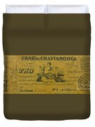Confederate Currency  Duvet Cover