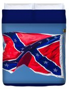 Confederate Flag 3 Duvet Cover