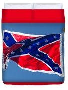 Confederate Flag 4 Duvet Cover