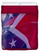 Confederate Flag 6 Duvet Cover