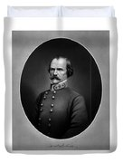 Confederate General Albert Sidney Johnston Duvet Cover